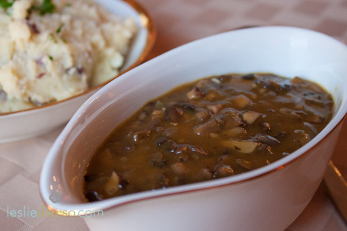 Wild Mushroom Gravy - Vegan & Vegetarian Cooking by Leslie Durso