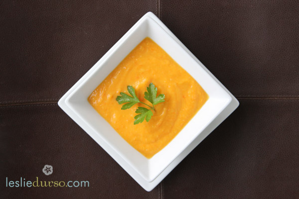 Creamy Vegan Carrot Soup