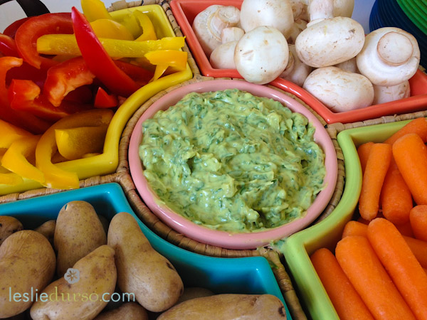Vegan Caramelized Onion Spinach Dip recipe