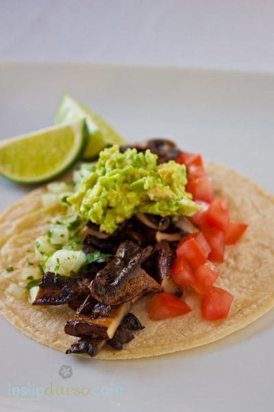 Vegan Portobello Asada Tacos