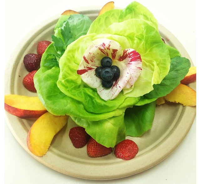 A Blooming Garden Salad