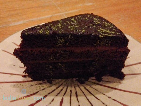 gobo chocolate cake