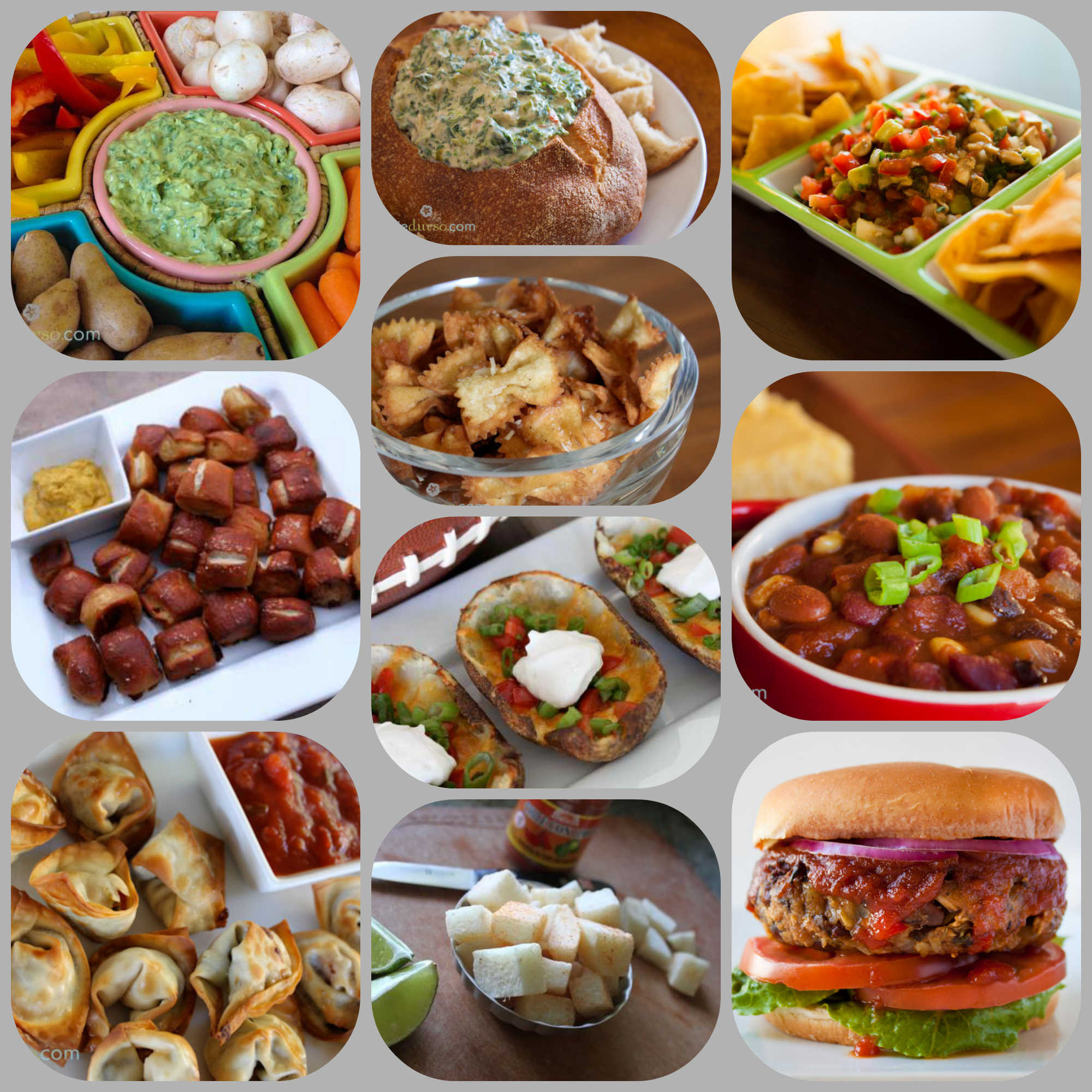 Vegan Superbowl recipes