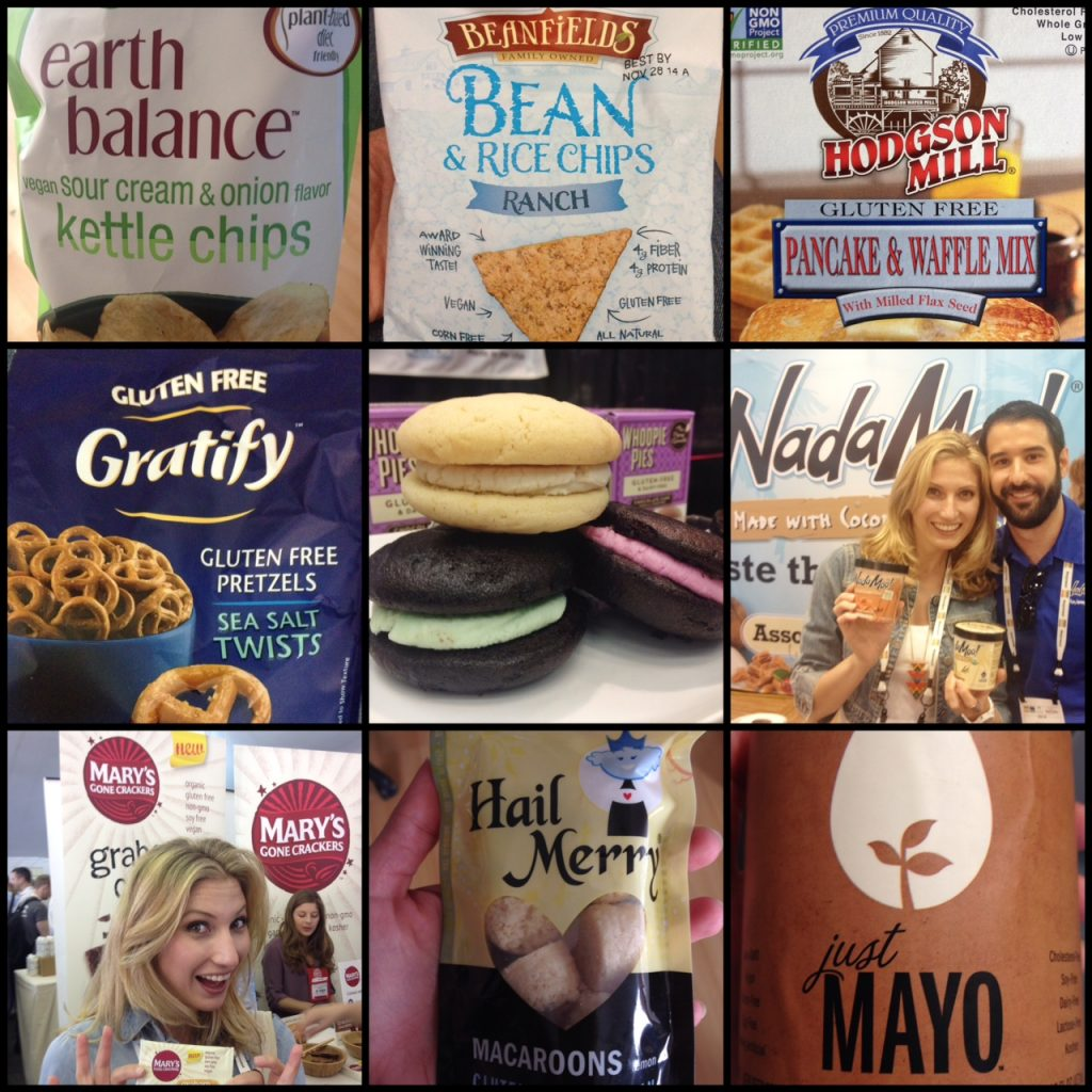 My fav vegan and gluten free picks from The Natural Products Expo