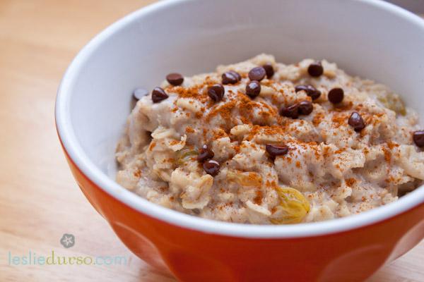 Creamy Vegan Oatmeal Cereal