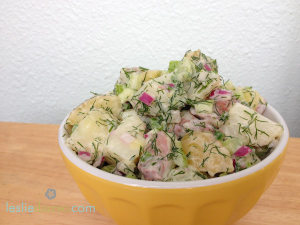 Jalapeño & Dill Vegan Potato Salad recipe