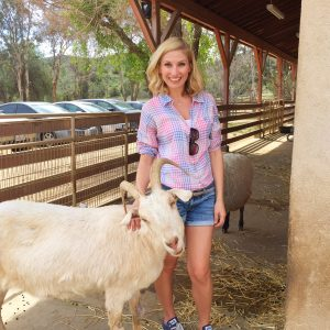 Leslie Durso visits Farm Sanctuary