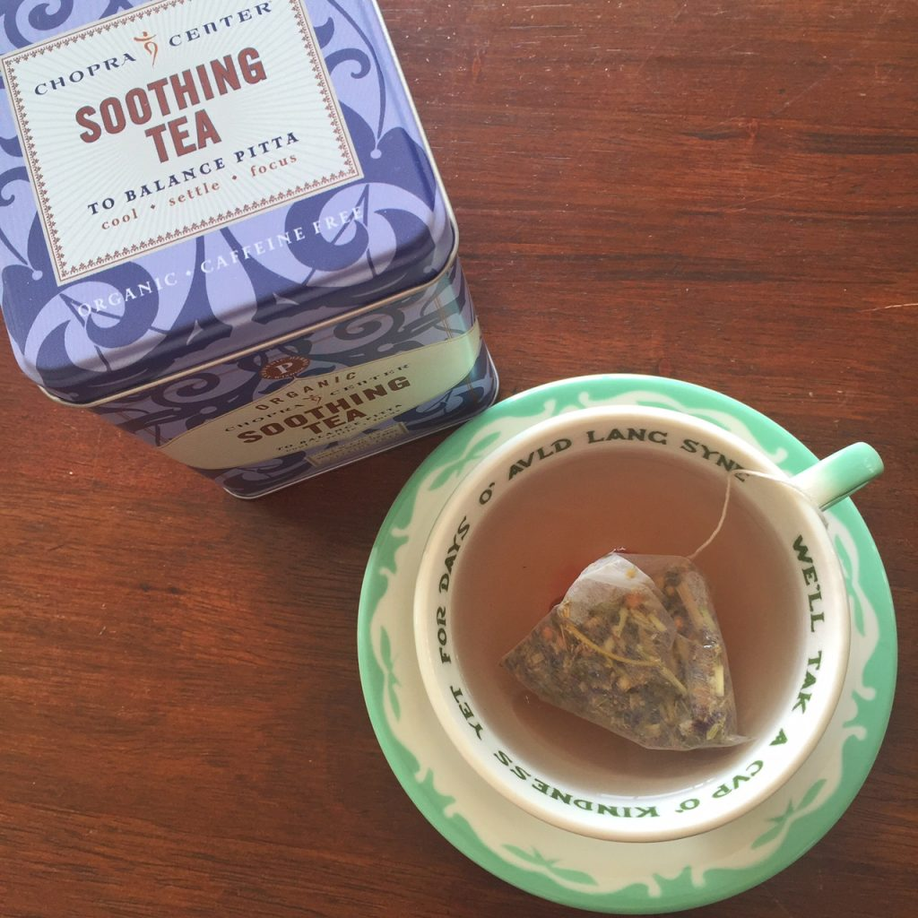 Soothing tea from Chopra Center
